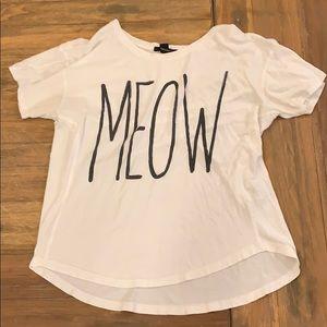 Meow short sleeved shirt